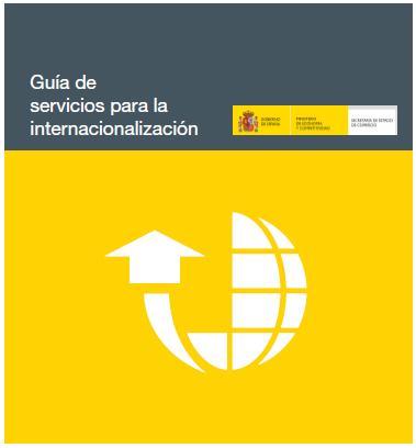 Guia de servicios para la internacionalizacion ICEX